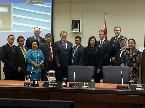 Members of the House of Commons Standing Committee on Natural Resources meeting with a Delegation from Indonesia | by davidmcguinty