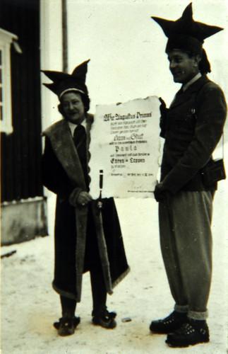 Den berømte bilsportsjåføren Hans Stuck i Karasjok