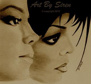 """Michael and Janet"" - June 6, 2012   by ArtBySiren"
