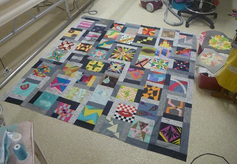 DHWQ FInished Quilt top