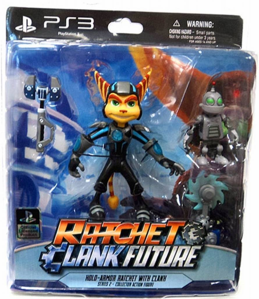 4-Ratchet & Clank Series 2 Exclusive Ratchet in Hyperflux