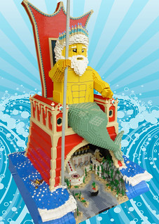 LEGO Poseidon, Guardian of Atlantis | by Brickbaron