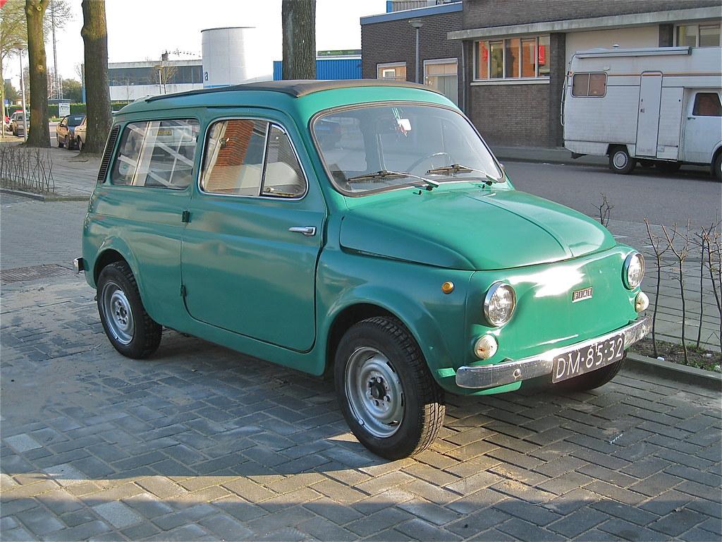 1972 Fiat 500 Familiare The Nuova 500 Mk1 Was Introduced O Flickr