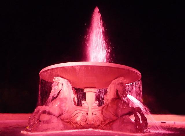 Four horses fountain