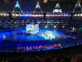 #london2012 #openingceremony Beatles moment   by gorgeoux