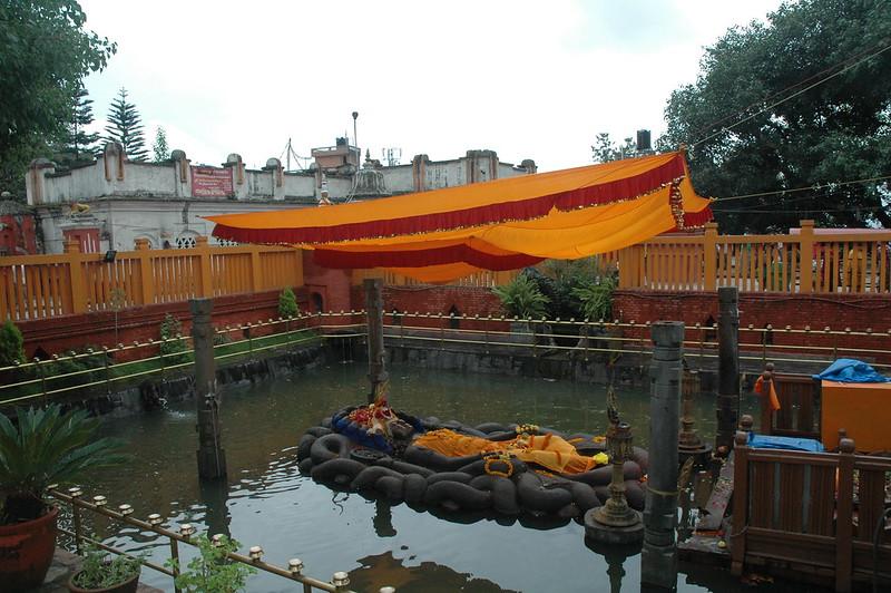 Budhanilkantha Temple - Vishnu