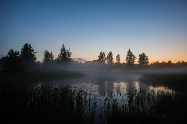 Fog reflections