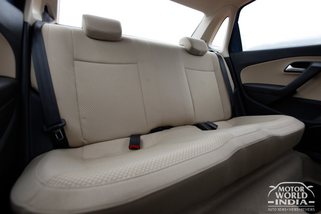 Amazing Volkswagen Ameo Interior Rear Seat Motorworldindia Mwi Ocoug Best Dining Table And Chair Ideas Images Ocougorg