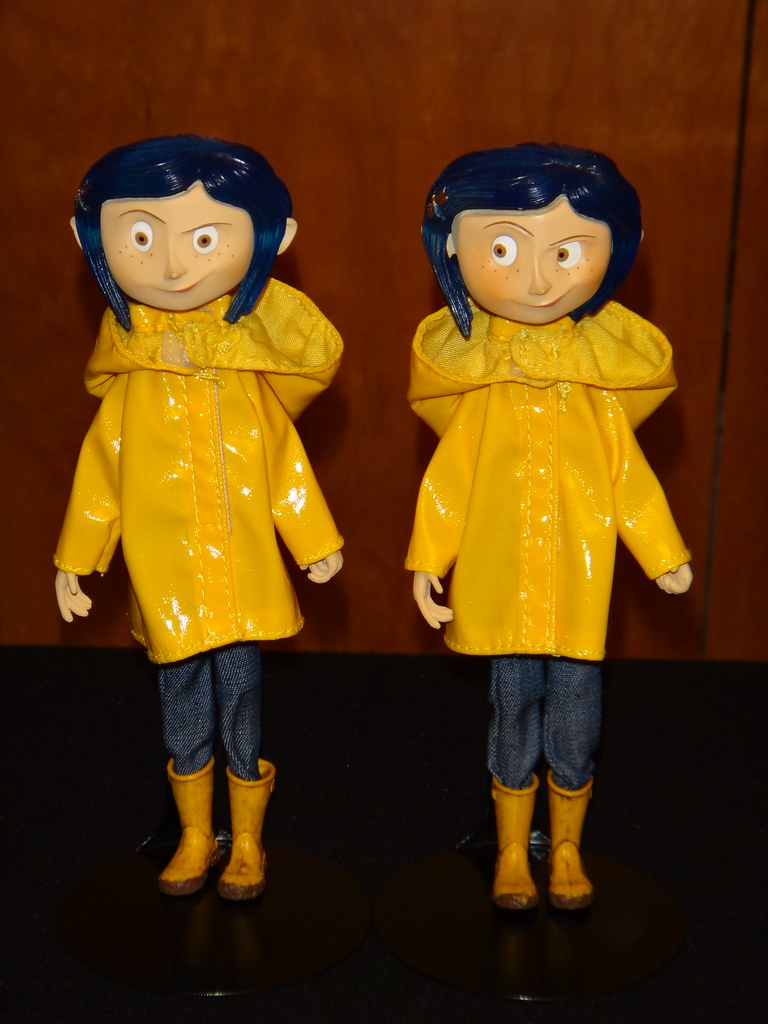 My Two Raincoat Coraline Bendy Dolls Full Front View Flickr
