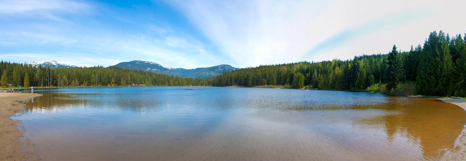 Lost lake, Whistler, CA