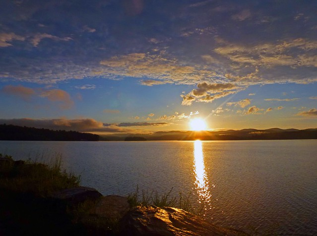 Sunrise View of Neshobe Island [Explored]