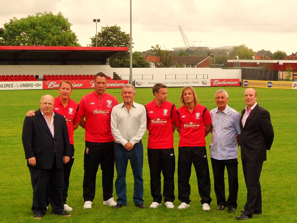 Budwesier announce new signings for Wembley