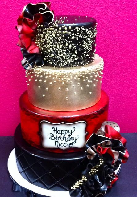 Nicole Scherzinger Birthday Cake
