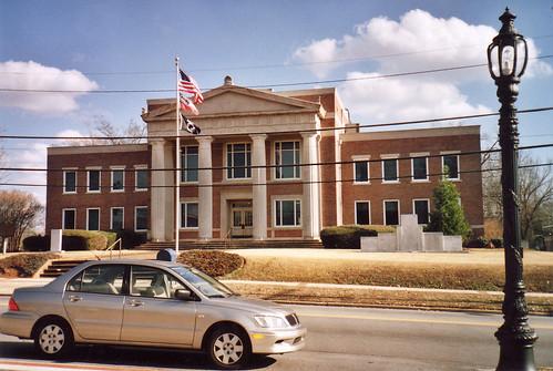Lamar County Court House (Barnesville, Ga.) | Built 1931 ...
