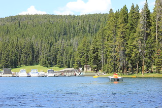 Boating on Yellowstone Lake | by sobolevnrm