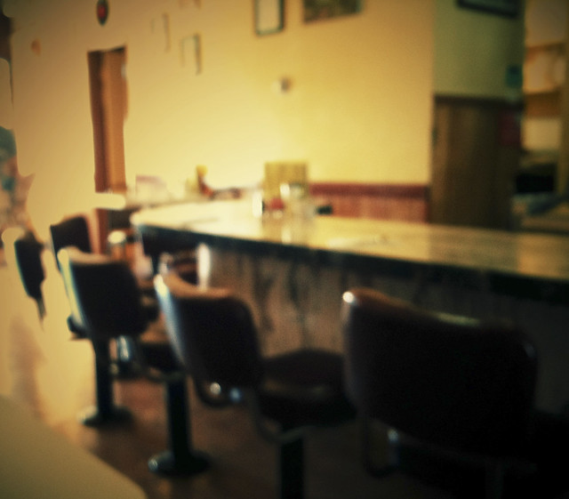 counter or booth