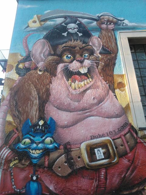 Duke 103 - Epple Haus, Graffiti, Graffito, Graffitismo, Grafito