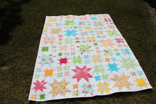 Oh My Stars quilted