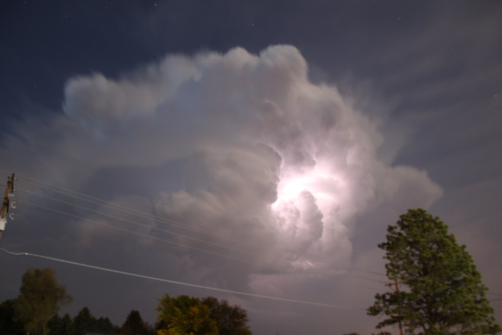 050212 - Strong but Small Nebraska Storm Cell | May 2, 2012
