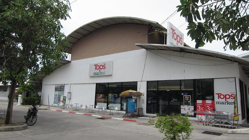 今日のサムイ島 チャウエン中心のスーパー TOPS ・Saver Mart