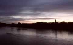 Kennebec Sunrise; Waterville, Maine