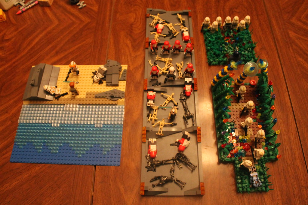Lego Star Wars Order 66 Mocs Preview Pic 2 Utapau Myge Flickr