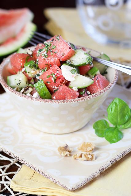 Watermelon Cucumber Salad-9