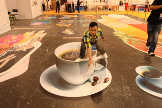3d cup   by 3D floor sticker - YeJun