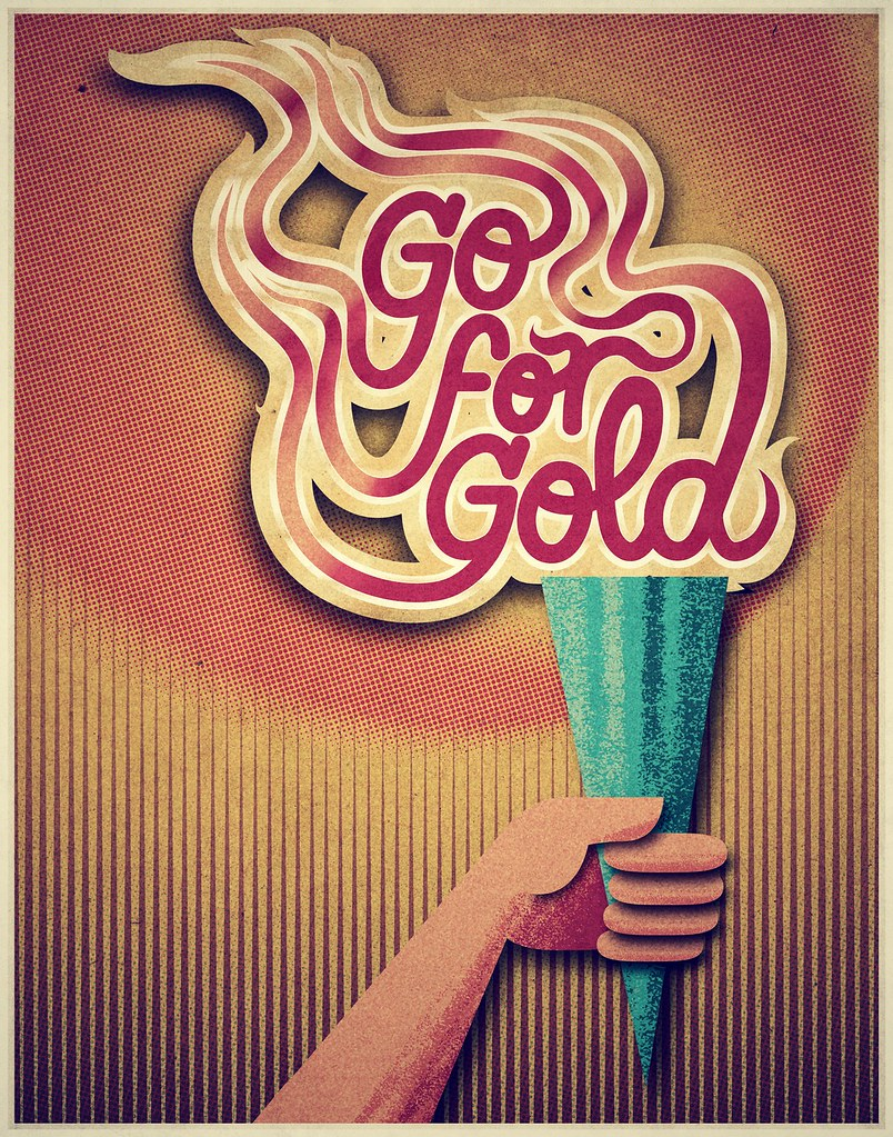 Go for Gold! - Poster art