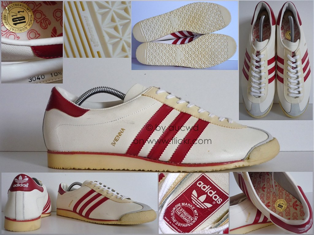 NEW 70`S 80`S VINTAGE ADIDAS VIENNA SHOES TRAINERS | Flickr