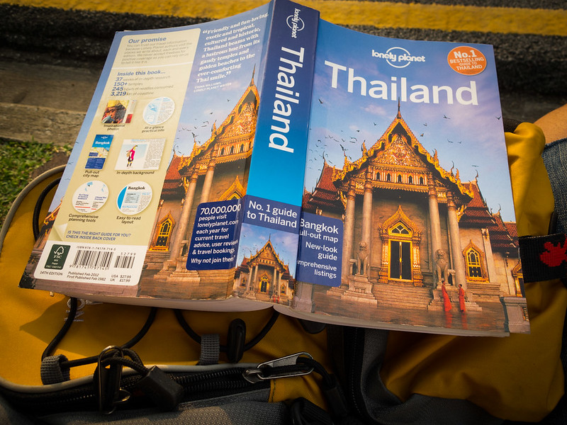 Reading Lonely Planet Guide