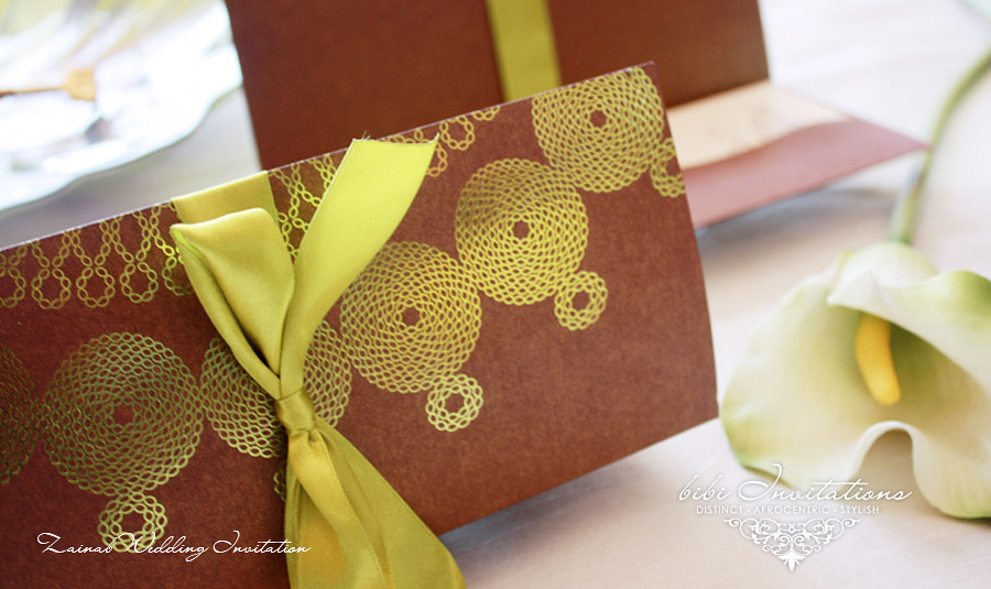 African Wedding Invitation African Danshiki Embroidery Ins Flickr