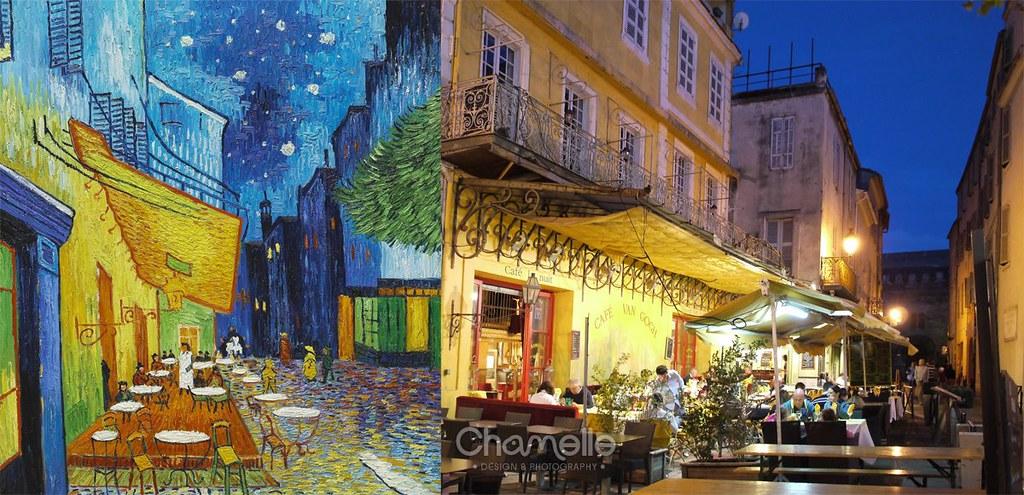 Cafe Terrace At Night Van Gogh Arles France My Unplan