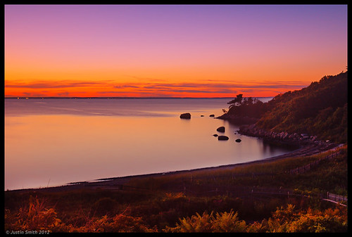 ocean sunset beach ma capecod massachusetts nikond50 woodshole justinsmith nikon1735mmf28 justinsmithphotocom