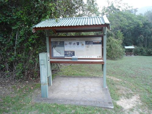 wokonationalpark australia nsw newsouthwales campingarea sign