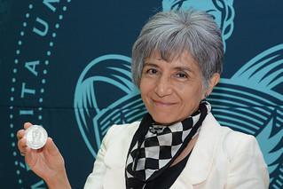 Vie, 11/07/2014 - 12:03 - A Dra María de la Paz Elizalde ICUAP