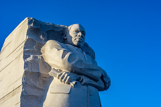 Martin Luther King Memorial in the early evening | by John Brighenti