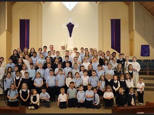 Divine Providence Academy hosts Bishop Walkowiak