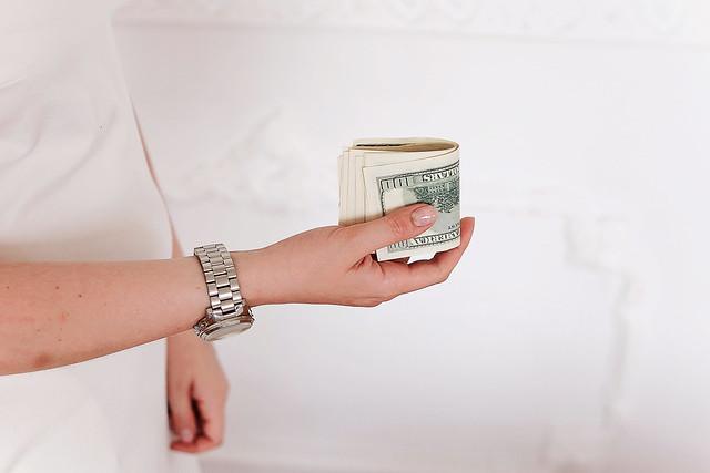 Man keeps money
