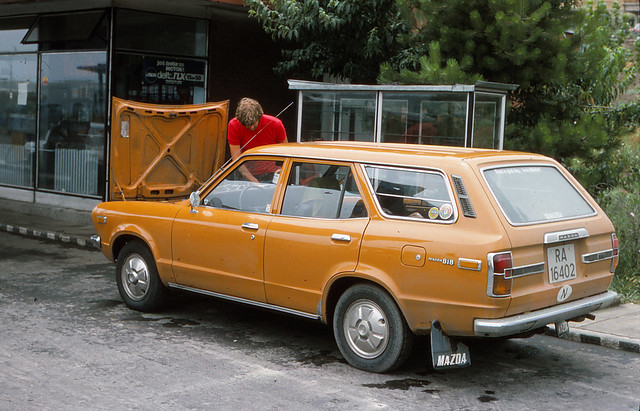 From a drive through eastern Europe summer 1976.