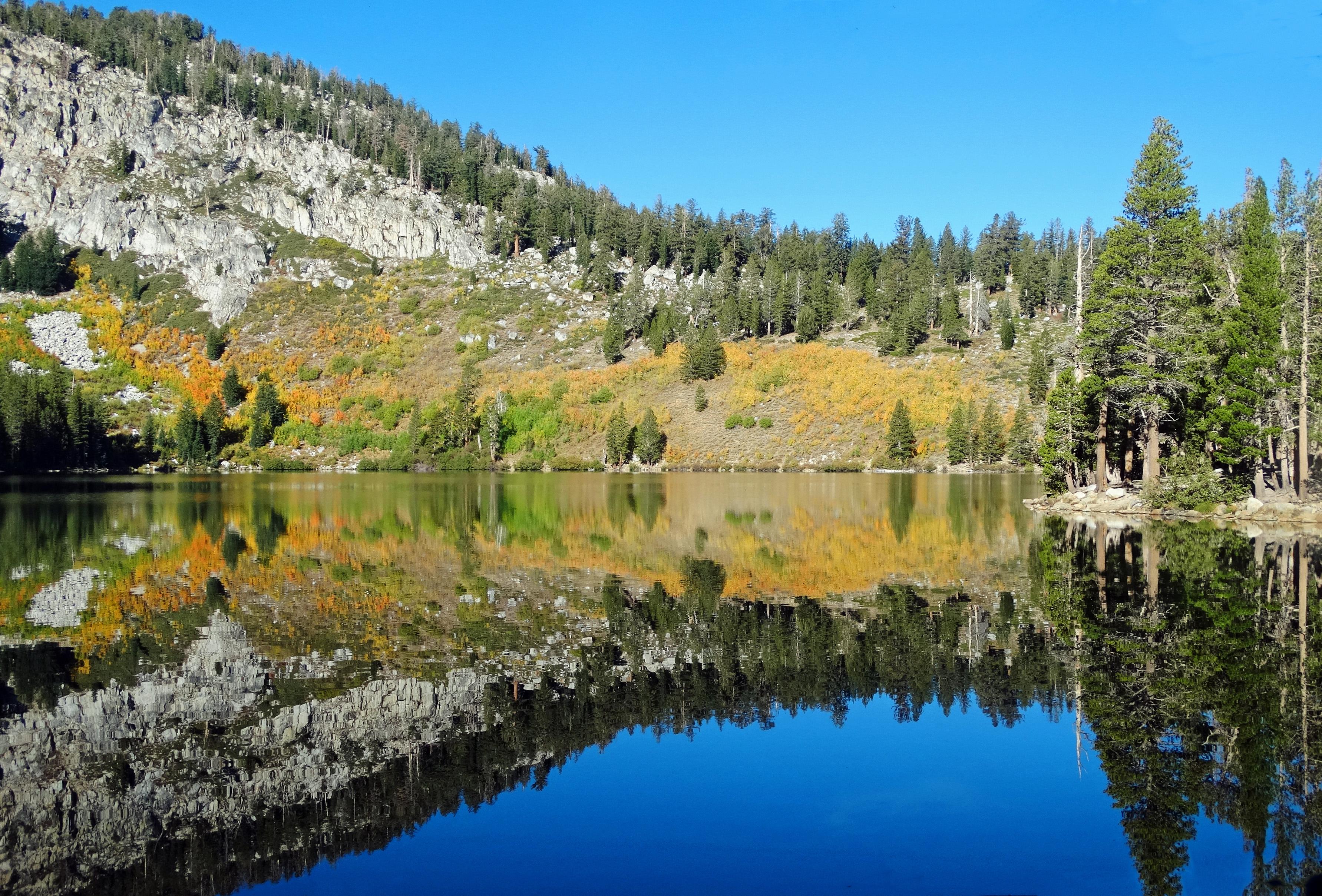 Autumn Reflections, Lake George, CA 9-16