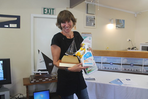 Shaaron McKee, Winner of the Queen of the river trophy