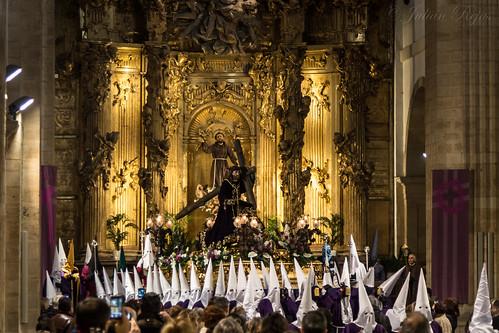 Domingo de Ramos, procesión del Dainos.