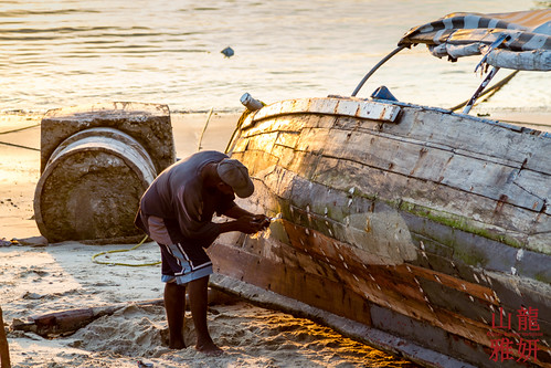Patching the Boat | by DragonSpeed