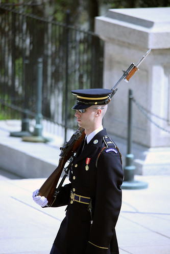 Tomb of the Unknown Soldier - guard - Arlington National Cemetery - 2012 | by Tim Evanson