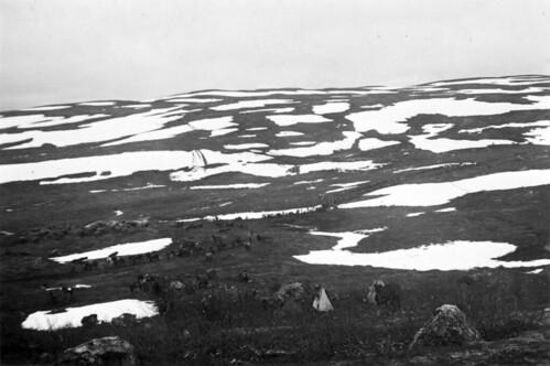 Klargjøring i den finske dalen ved Titowka