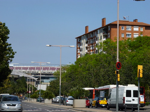 Near Camp Nou
