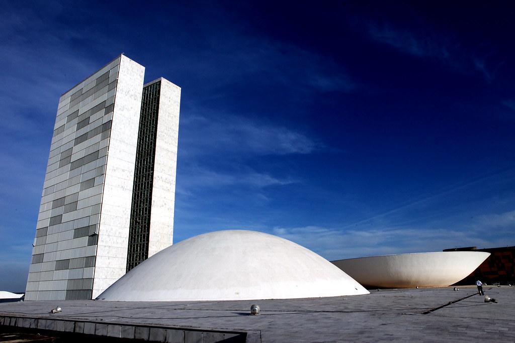 Prédio do Congresso Nacional visto pelo lado do Senado Fed… | Flickr