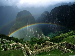 rainbow over machu picchu | by My Positive Thoughts on Life