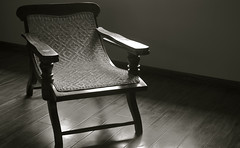 An empty chair, four days gone by, a story.